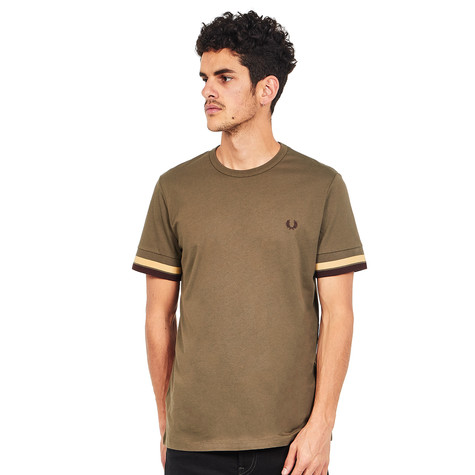 4000520ef Fred Perry - Bold Tipped T-Shirt (Iris Leaf)