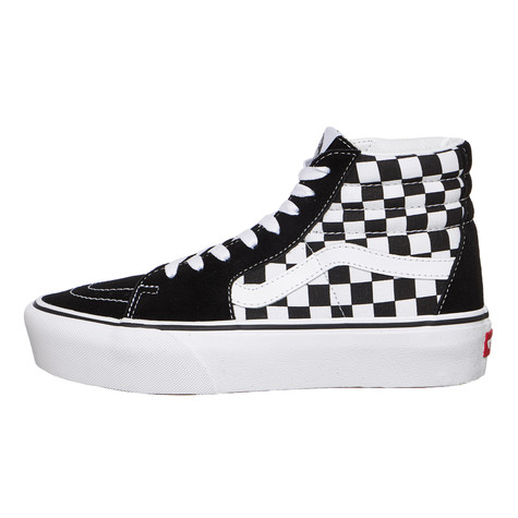 b82577e539db Vans - UA SK8-Hi Platform 2.0 (Checkerboard   True White)