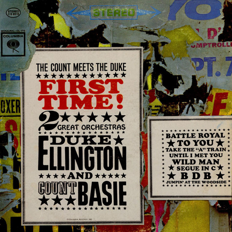 Duke Ellington And Count Basie - First Time! The Count Meets The Duke