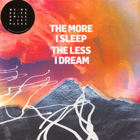We Were Promised Jetpacks - The More I Sleep The Less I Dream Black Vinyl Edition