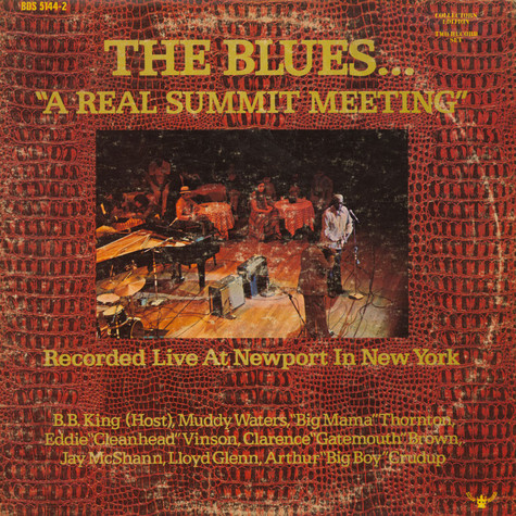 "V.A. - The Blues... ""A Real Summit Meeting"""