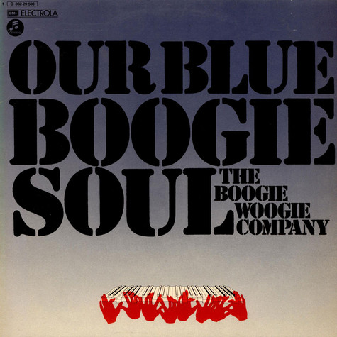 Boogie Woogie Company, The - Our Blue Boogie Soul