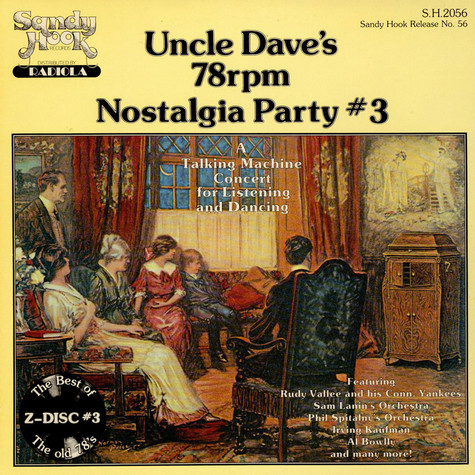 V.A. - Uncle Dave's 78 Rpm Nostalgia Party #3
