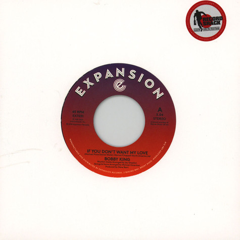 Bobby King - If You Don't Want My Love