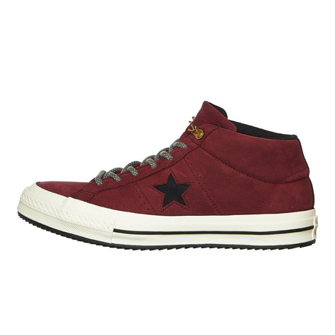 Converse - One Star Mid Counter Climate (Dark Burgundy   Black ... 7d8304d51