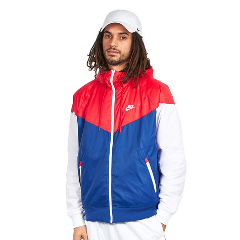 Nike - Sportswear Windrunner 2 (University Red   Indigo Force ... 4b136f0c9