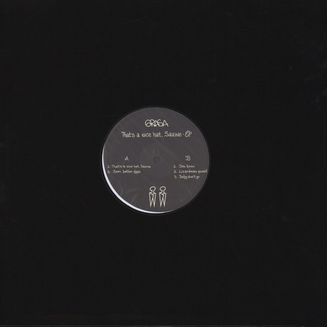Grasa - That's A Nice Hat, Saxine EP