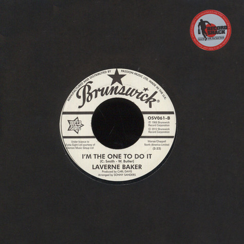 Erma Franklin / Laverne Baker - I Get The Seetest Feeling / I'm The One To Do It