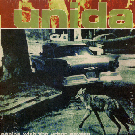 Unida - Coping With The Urban Coyote Red Vinyl Edition