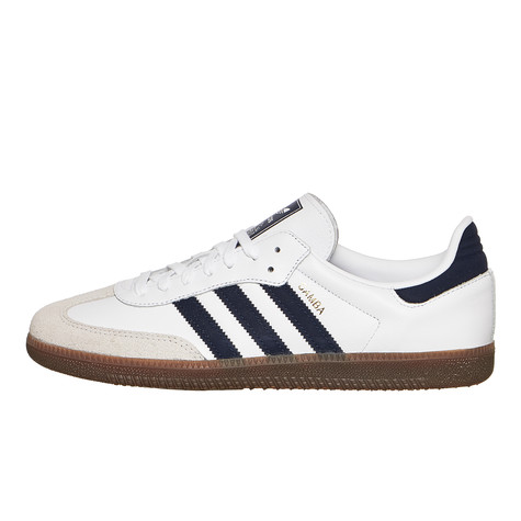 adidas - Samba OG (Footwear White   Collegiate Navy   Crystal White ... 4511645f24