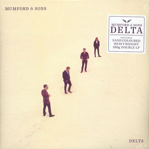 Mumford & Sons - Delta Limited Sand Colored Vinyl Edition