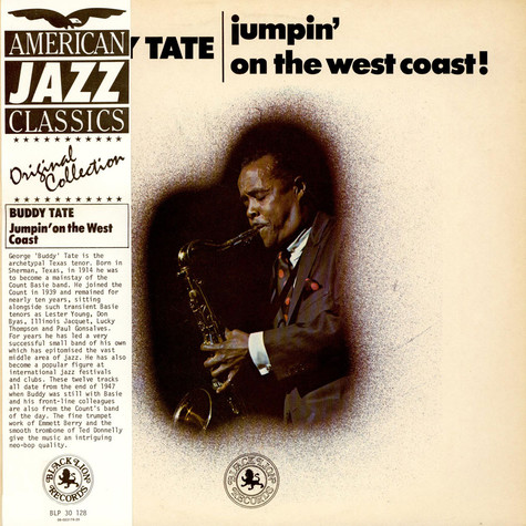 Buddy Tate - Jumpin' On The West Coast!