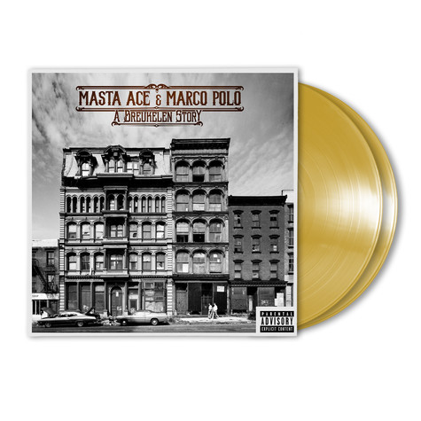 Masta Ace & Marco Polo - A Breukelen Story HHV Exclusive Gold Colored Vinyl Edition