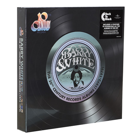 Barry White - The 20th Century Records Albums 1973 To 1979