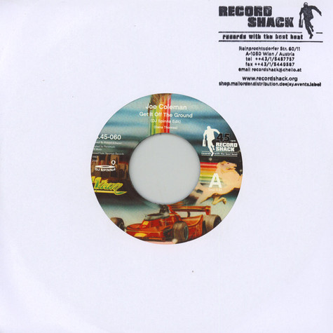 Joe Coleman - Get It Off The Ground (DJ Spinna Edit) / 7inch Version