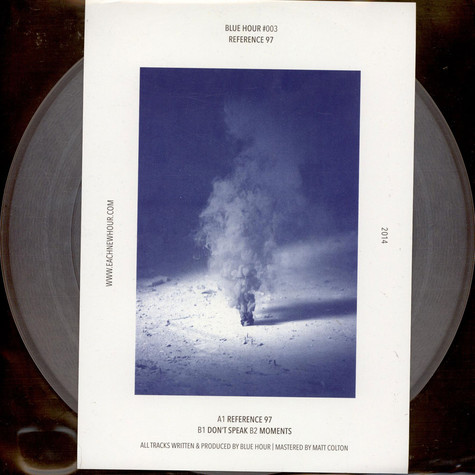 Blue Hour - Reference 97 Clear Vinyl Edition