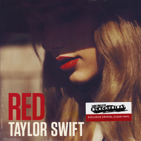 Taylor Swift Red Crystal Clear Vinyl Edition Vinyl 2lp