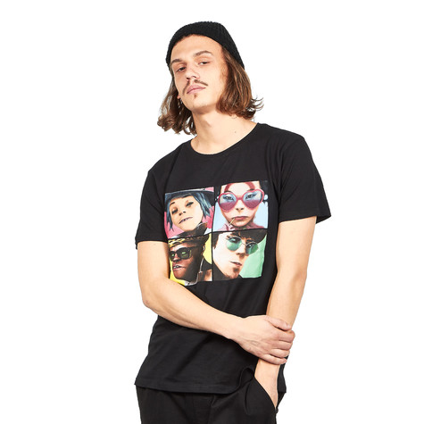 Gorillaz - 4 Faces T-Shirt