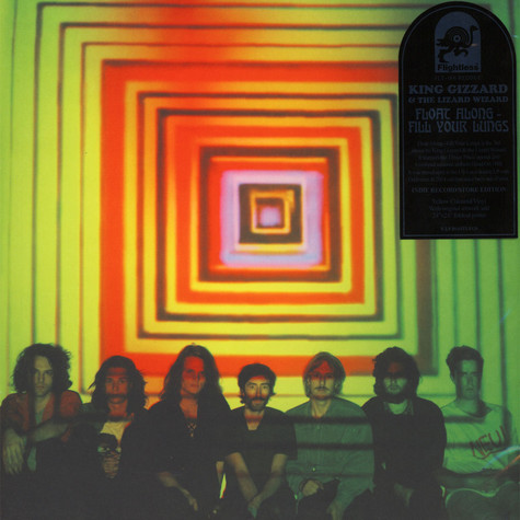 King Gizzard & The Lizard Wizard - Float Along - Fill Your Lungs Colored Vinyl Edition