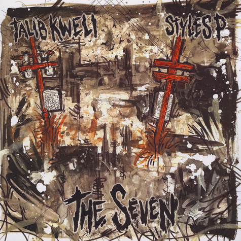 Talib Kweli & Styles P - The Seven Splattered Vinyl Edition