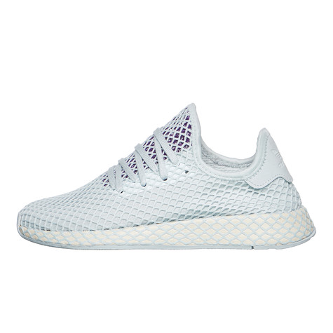4ffb377862751 adidas - Deerupt Runner W (Blue Tint   Ecru Tint   Active Purple)