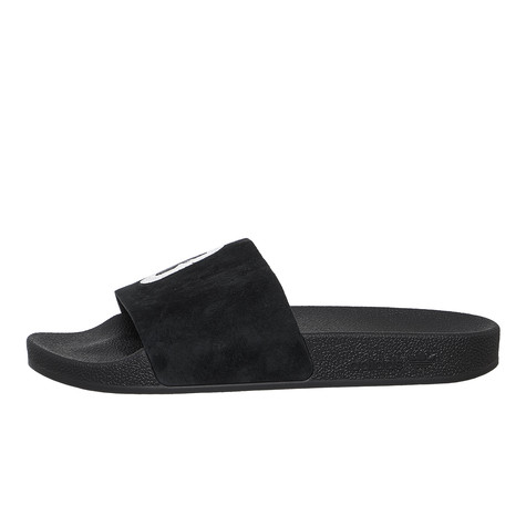 best website 46f84 a837f adidas x Hattie Stewart. Adilette W (Core Black ...