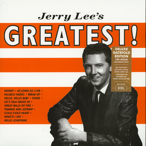 Jerry Lee Lewis - Jerry Lee's Greatest Gatefold Sleeve Edition