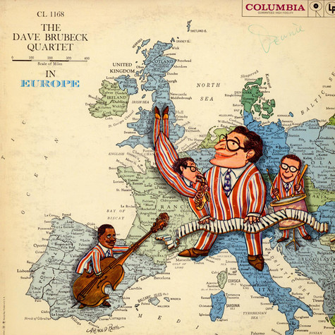 Dave Brubeck Quartet, The - The Dave Brubeck Quartet In Europe