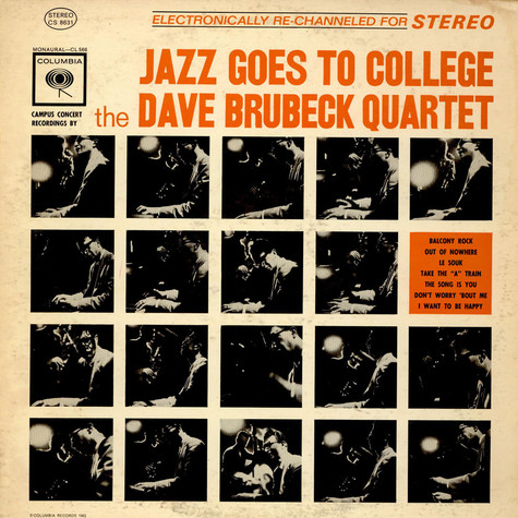 The Dave Brubeck Quartet - Jazz Goes To College