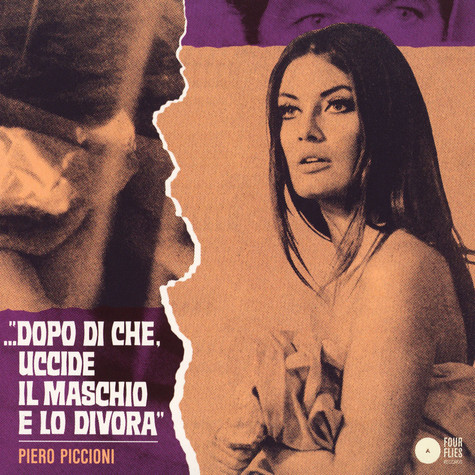 Piero Piccioni - Right Or Wrong / Onace And Again Violet Label And Sleeve Edition