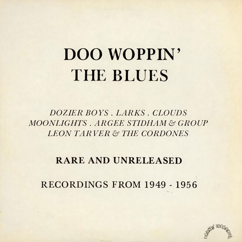 V.A. - Doo Woppin' The Blues