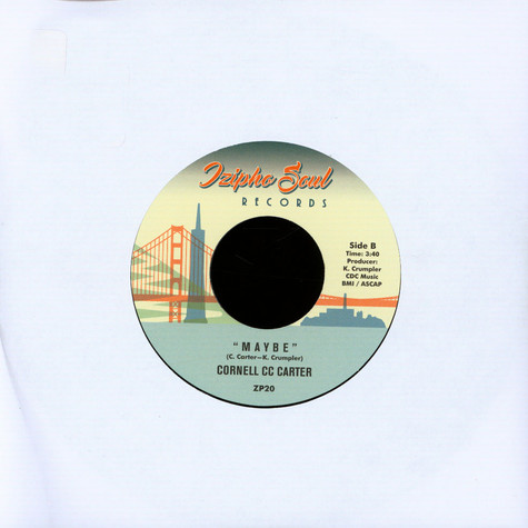 Cornell Cc Carter - That's My Baby / Maybe
