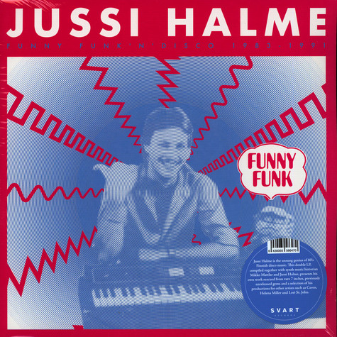 Jussi Halme - Funny Funk 'N' Disxco 1983-1991