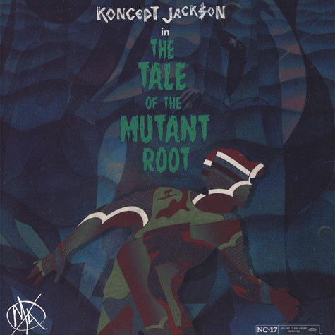 Koncept Jack$on - The Tale Of The Mutant Root Darkgreen & Black Marbled Vinyl Edition