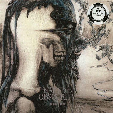 Nailed To Obscurity - Black Frost Splatter Vinyl Edition