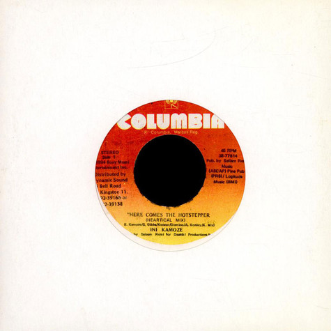 Ini Kamoze - Here Comes The Hotstepper