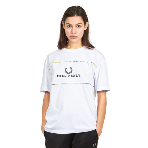 Fred Perry - Liberty Print Sports T-Shirt
