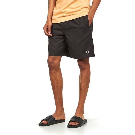cd7f9ccb8f Fred Perry - Textured Swimshort (Black) | HHV