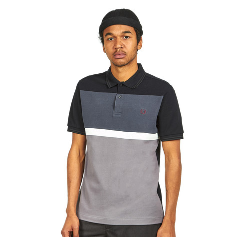 Fred Perry - Blocked Panel Pique Shirt
