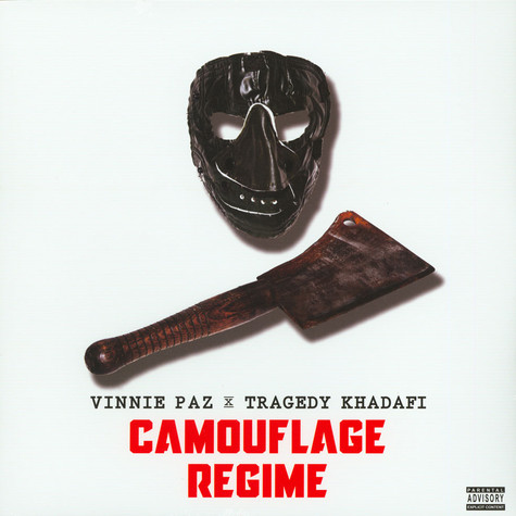 Vinnie Paz X Tragedy Khadafi - Camouflage Regime Green Vinyl Edition