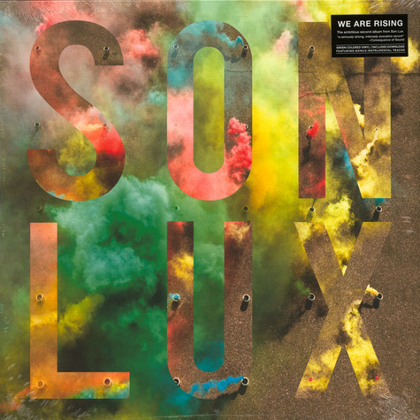 Son Lux - We Are Rising Green Vinyl Edition