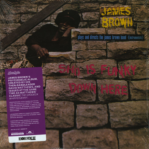 James Brown - Sho Is Funky Down Here Record Store Day 2019 Edition