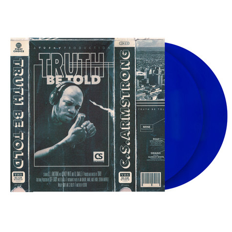 C.S. Armstrong & Torky Tork - Truth Be Told Deluxe Blue Vinyl Edition