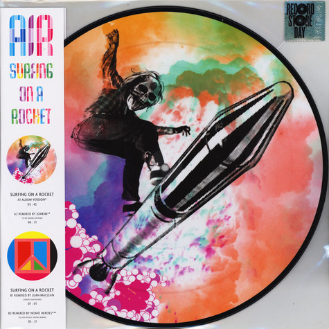 pretty nice af6eb 03f92 AIR. Surfing On A Rocket Record Store Day 2019 Edition