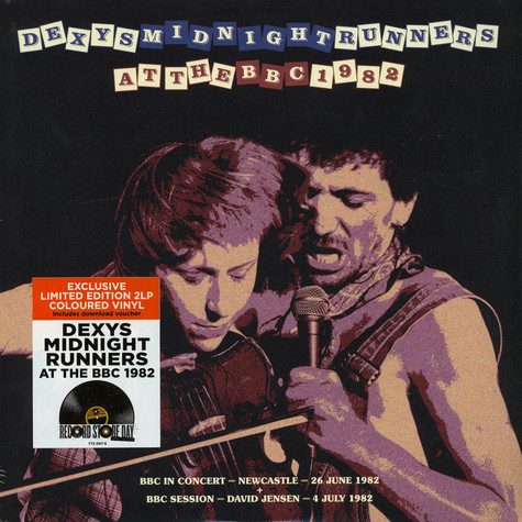 Dexys Midnight Runners - At The BBC 1982 Colored Vinyl Record Store Day 2019 Edition