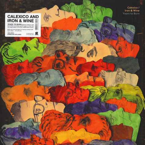 Calexico And Iron & Wine - Years To Burn Colored Vinyl Edition