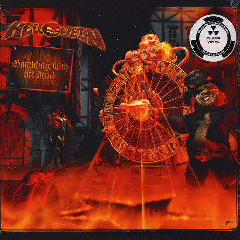 Helloween - Gambling With The Devil Clear Vinyl Edition
