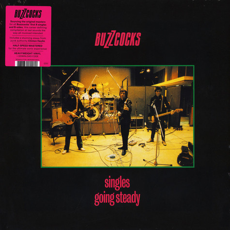 Buzzcocks - Singles Going Steady Black Vinyl Edition