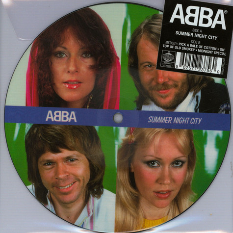 """ABBA - Summernight City Limited 7"""" Picture Disc Edition"""