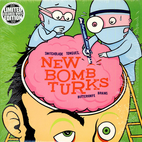New Bomb Turks, The - Switchblade Tongues, Butterknife Brains